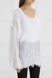 Блузка со сборками Graviteight