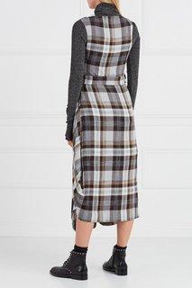 Платье-миди в клетку Vivienne Westwood Anglomania
