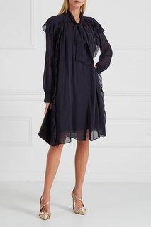Платье с драпировками и рюшами Dorothee Schumacher
