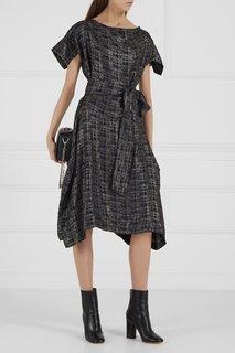 Платье в клетку с люрексом Vivienne Westwood Anglomania