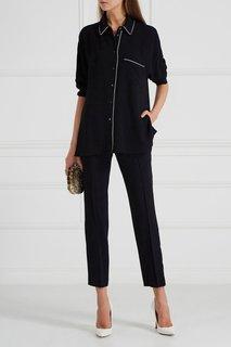 Блузка в пижамном стиле Hugo Boss