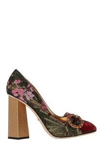 Туфли с отделкой Dolce & Gabbana