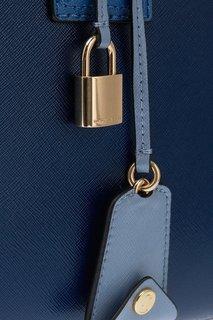 Кожаная сумка с логотипом Big Shot Marc Jacobs