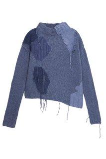 Голубой свитер из шерсти Acne Studios