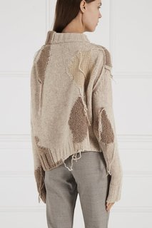 Бежевый свитер из шерсти Acne Studios