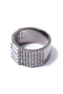 Широкое кольцо с паве Herald Percy