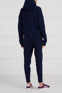 Хлопковые спортивные брюки Adidas