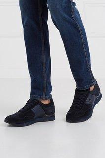 Замшевые кроссовки Cesare Paciotti