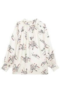 Шелковая блузка с принтом Akhmadullina Dreams
