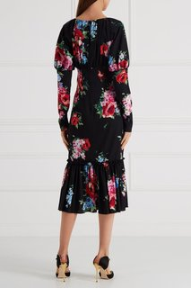 Платье с принтом Dolce & Gabbana