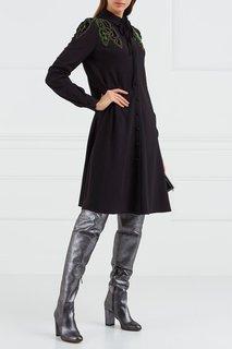 Платье с аппликацией Valentino