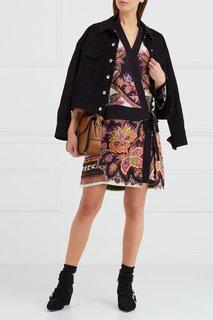 Платье-халат с принтом Etro