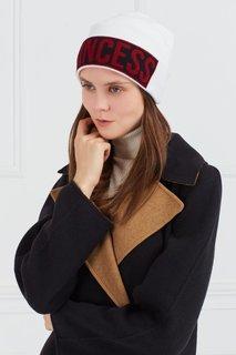 Контрастная шерстяная шапка Dolce & Gabbana