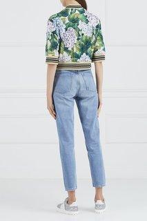 Куртка с принтом Dolce & Gabbana