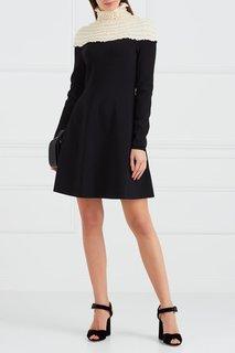 Комбинированное платье Valentino