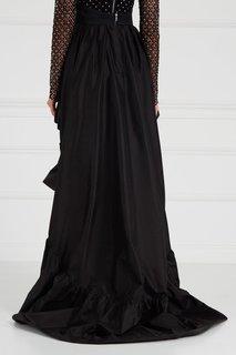 Асимметричная юбка из тафты Maison Bohemique