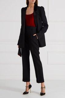 Кожаный клатч с отделкой Dolce & Gabbana