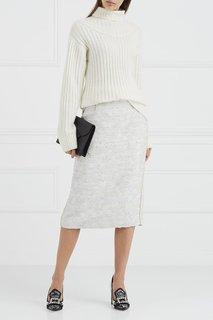 Туфли с комбинированной отделкой Dolce & Gabbana