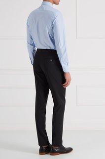 Черные шерстяные брюки Billionaire