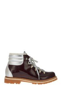 Ботинки из лакированной кожи Margherita Montelliana