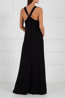 Черное платье с подрезами Theory