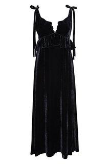 Бархатное платье Argo Vivetta