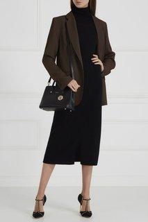 Черная сумка с подвеской Linda Furla