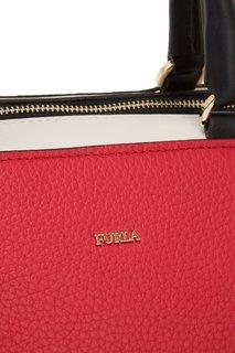 Красная сумка Blogger Furla