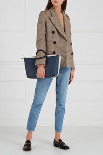 Синяя сумка Blogger Furla