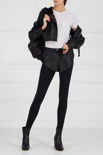 Черные брюки с шортами Natasha Zinko
