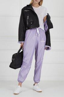 Фиолетовые широкие брюки Natasha Zinko