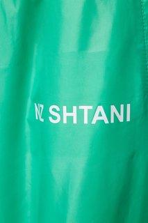 Зеленые широкие брюки Natasha Zinko