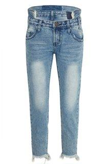 Вареные джинсы с бахромой One Teaspoon