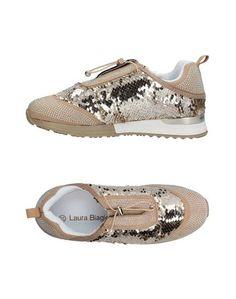 Низкие кеды и кроссовки Laura Biagiotti