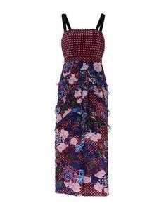 Платье длиной 3/4 Saloni