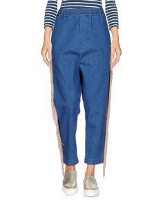 Джинсовые брюки-капри Malph
