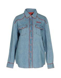 Джинсовая рубашка Hilfiger Collection