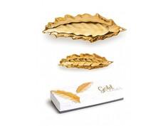 """Набор пиал """"Gold leaves"""" (2 шт) Rosanna"""