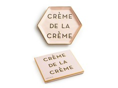 "Декоративный поднос ""Crème de la crème"" Rosanna"