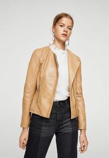 Куртка кожаная Mango