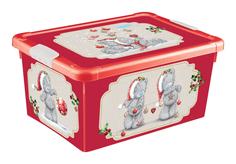 Ящик для игрушек Me to you новогодний 8,4 л