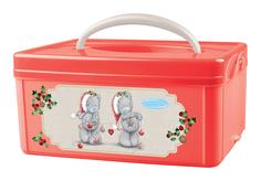 Ящик для игрушек Me to you с ручкой новогодний 2 л