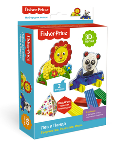 Набор для лепки Fisher-Prise «Лев и Панда»