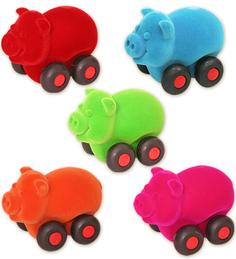 Развивающая игрушка Rubbabu «Поросенок» 9 см в ассортименте