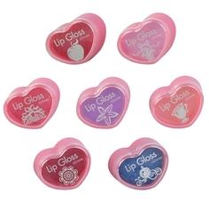 Набор блесков для губ Markwins «Princess» в баночках 7 шт.