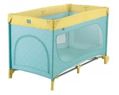 Манеж-кроватка Happy baby New «Martin» blue в ассортименте