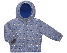 Куртка для мальчика Barkito, серая с рисунком