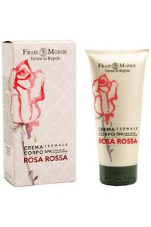 Крем для тела с ароматом розы FRAIS MONDE