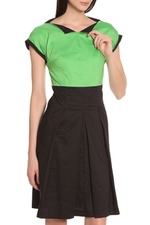 Повседневное платье с коротким рукавом Oblique