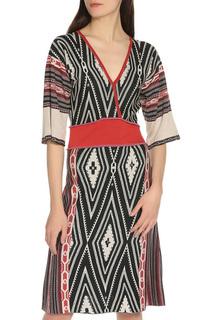 Платье V-вырез Etro